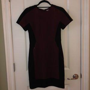 Halogen Color Block Pencil Dress
